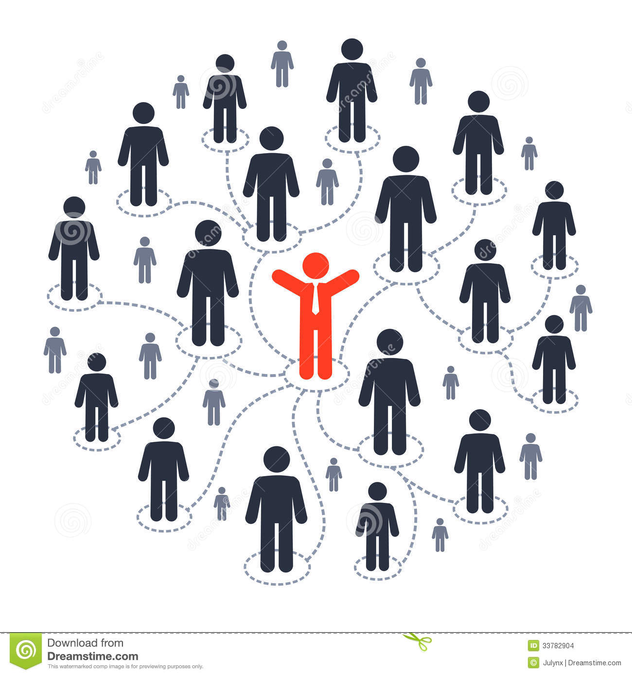 Social People Clipart.