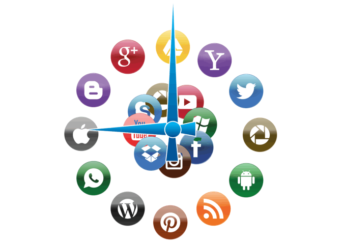 EditorsFiguringOut … A Social Media Marketing Schedule.