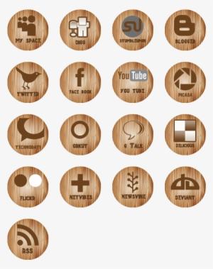 Social Media Icons PNG, Transparent Social Media Icons PNG.