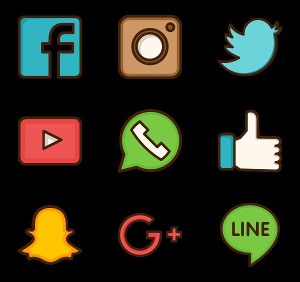 Social media Computer Icons Social network Clip art.
