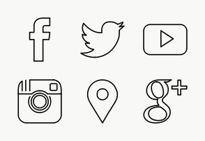White Social Media Icons Png (108+ images in Collection) Page 2.