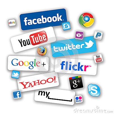 Social network clipart.