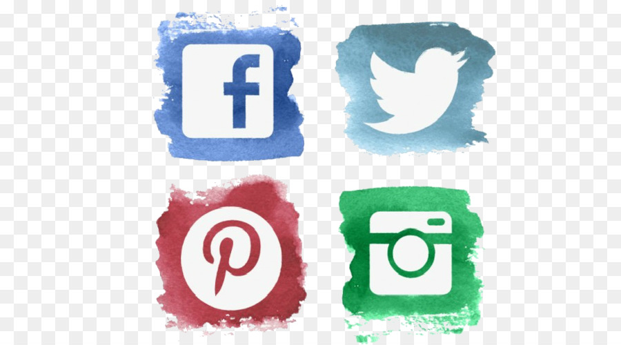 Social Media Icons Background png download.