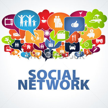 Social Networking Clip Art.