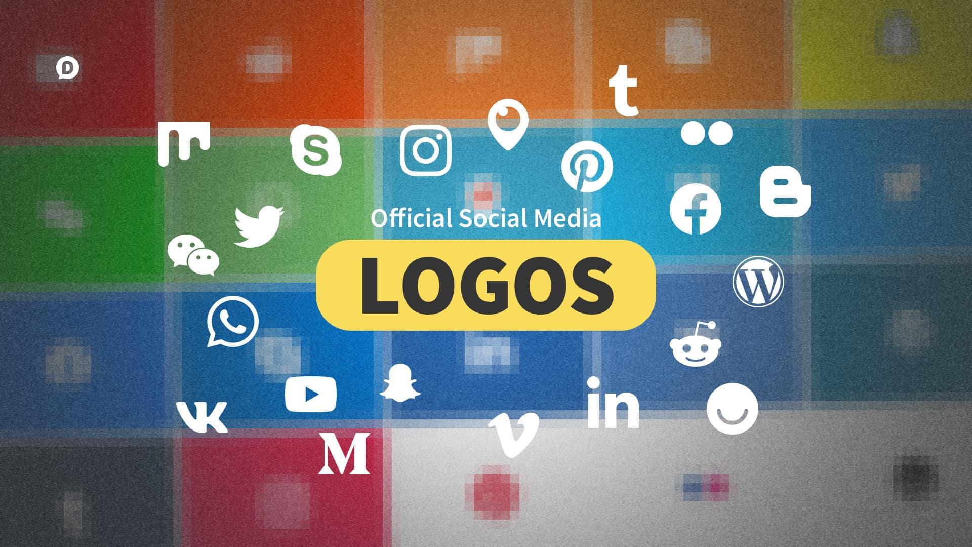 2019 Social Media Logos: 21 Most Popular Social Networks.