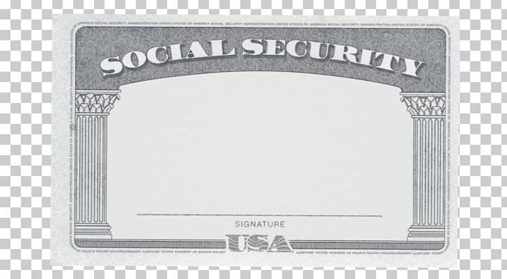 Social Security Administration Social Security Number Form I.