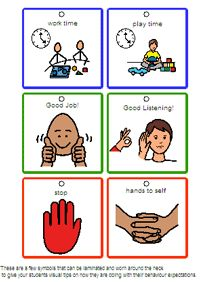 Autism Social Story Clipart.