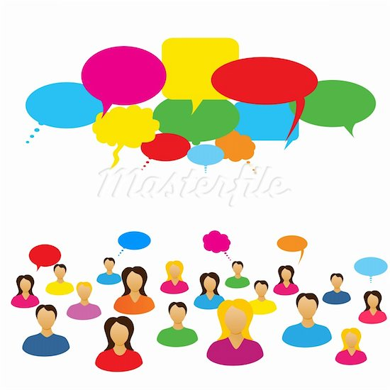 Clipart Of People Socializing Clipground