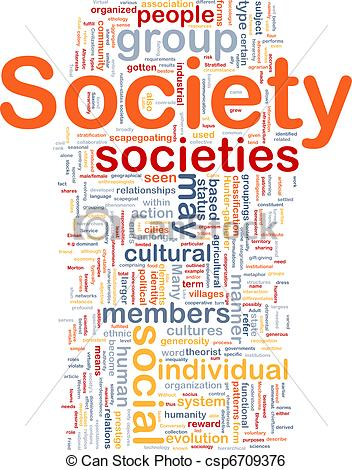 Society clipart.