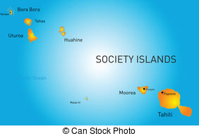 Society islands Clip Art and Stock Illustrations. 57 Society.