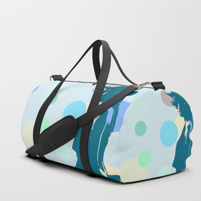 Clipart girl Duffle Bag by layla.