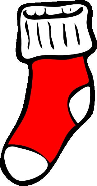 Sock Clipart.