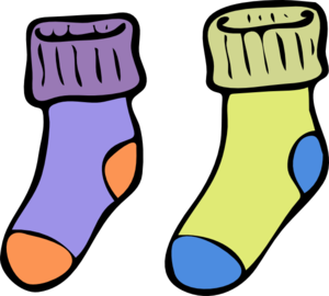 Cute Sock Clipart.