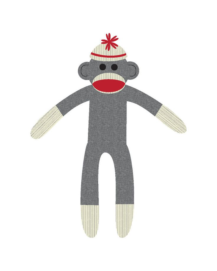 61+ Sock Monkey Clip Art.