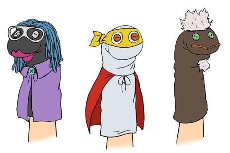 Super Hero Sock Puppets Pinterest.