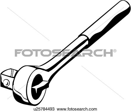 Clipart of , socket, tool, wrench, u25784493.