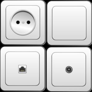 Plug Sockets Clip Art at Clker.com.