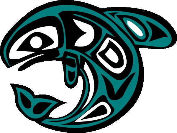 Native Salmon Clip Art at Clker.com.