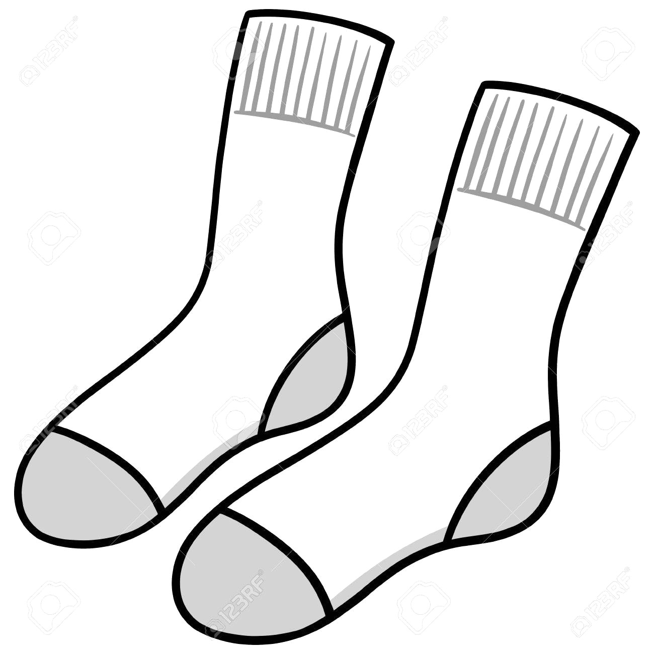Clipart socks » Clipart Station.