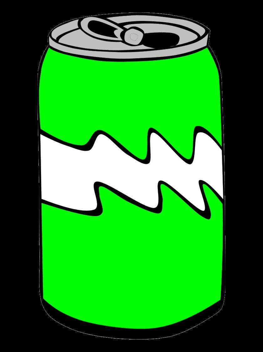 Soda Can Clipart Suggest Green Clip Art Hd Transparent Png.