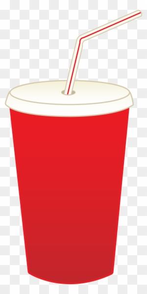Clip Art Picture Soda Pop Cup.