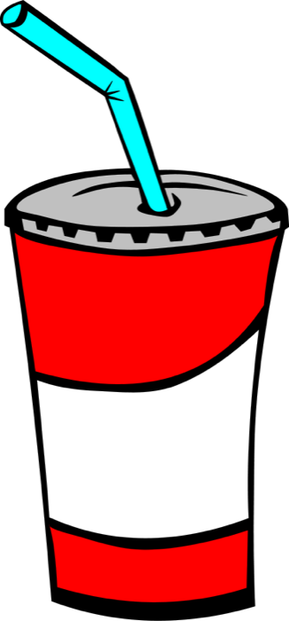 Clipart of Drinks.