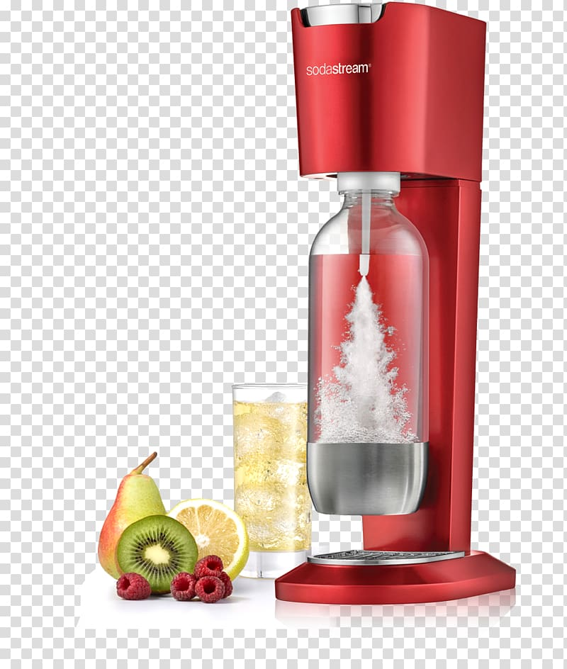 Carbonated water Carbonated drink SodaStream Fizzy Drinks.