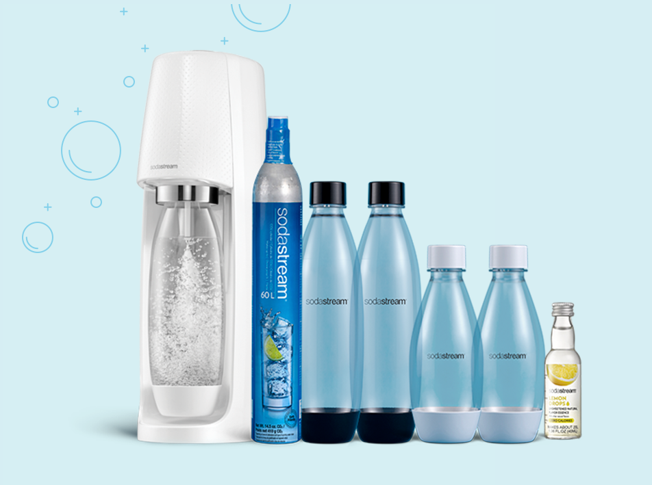 SodaStream Official: Sparkling Water Makers, Carbonating Gas.