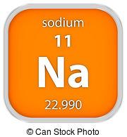 Sodium chemical element Illustrations and Clipart. 121 Sodium.