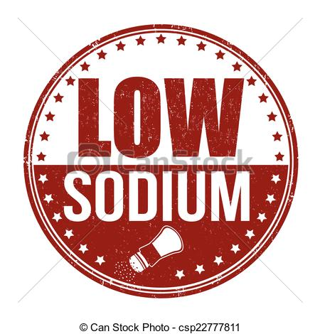 Low sodium Vector Clipart Royalty Free. 37 Low sodium clip art.