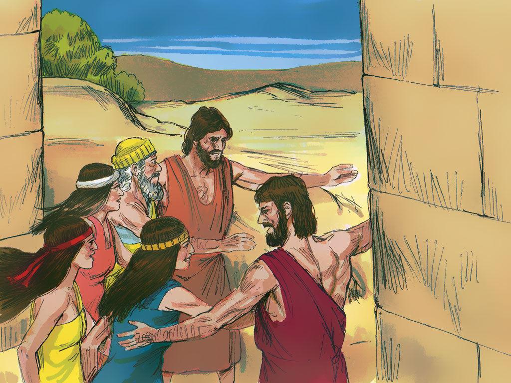 FreeBibleimages :: Sodom & Gomorrah destroyed :: Lot\'s.