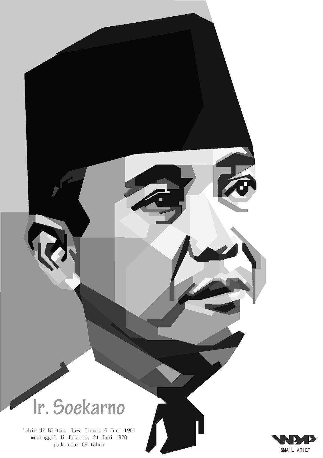 Skintone Ir. Soekarno By Ismail Arief.