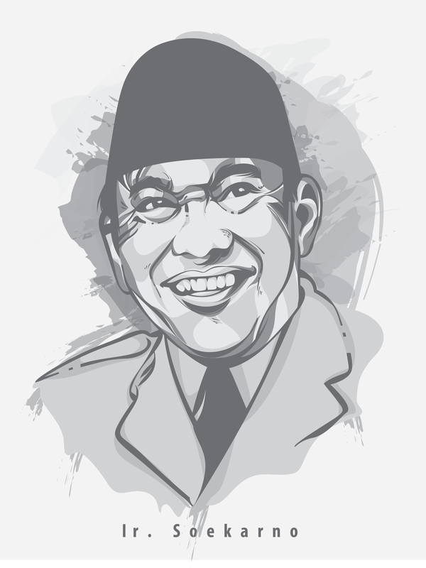 Ir Soekarno Png Vector, Clipart, PSD.