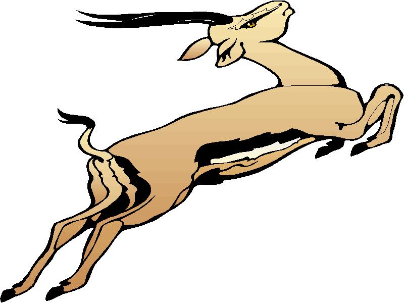 Gazelle clipart love.