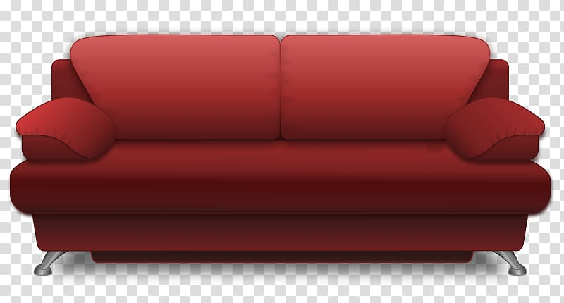 Couch Living room Free content , Sofa transparent background.