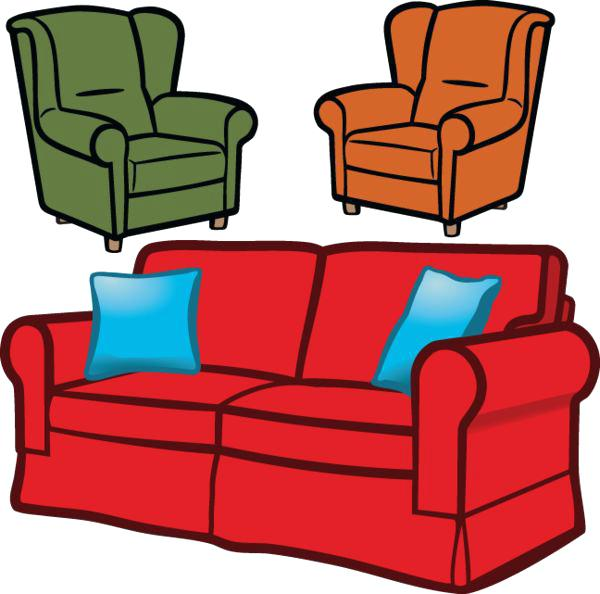 Chair clipart sofa, Chair sofa Transparent FREE for download.