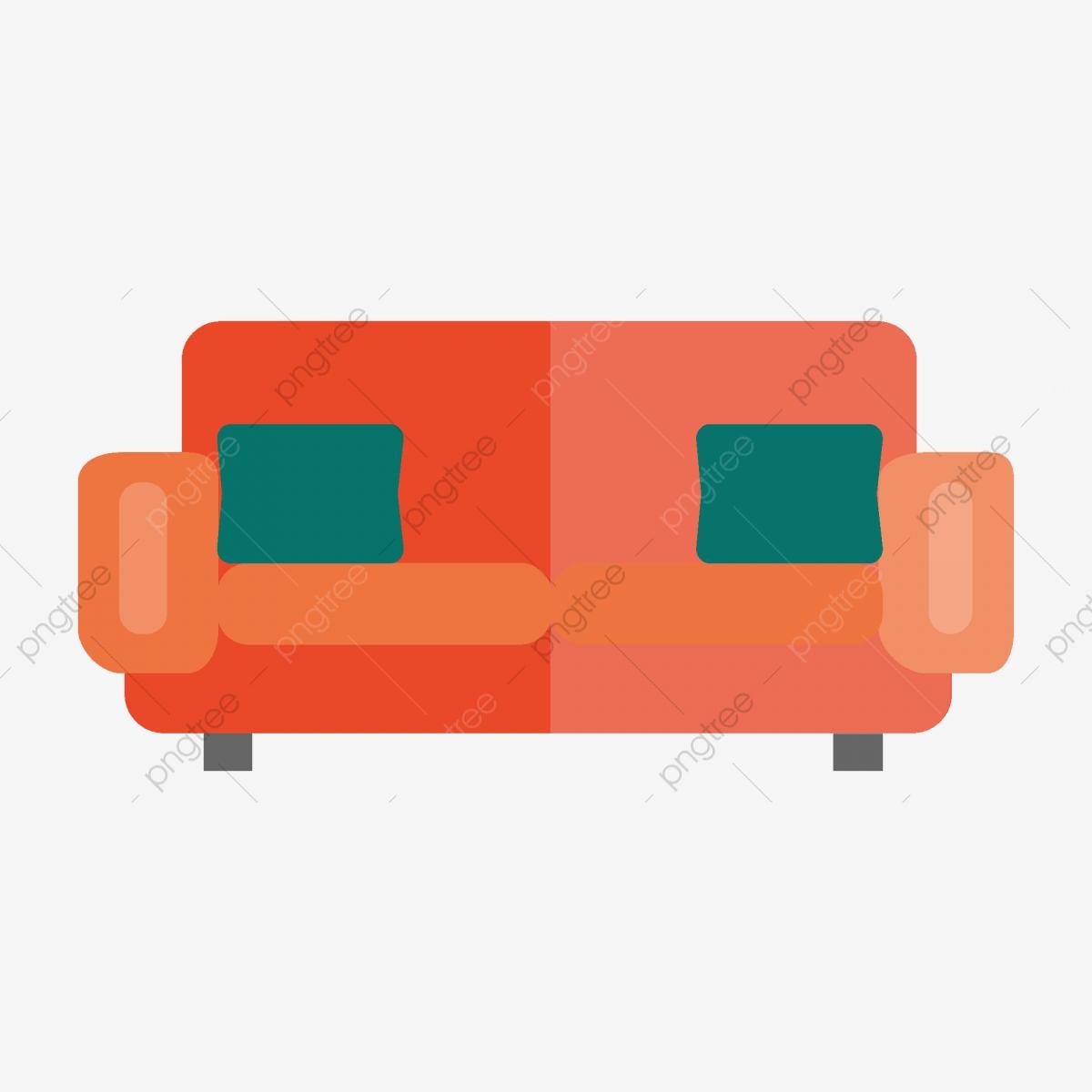 Cartoon Sofa Shape Can Be Commercial Elements, Cartoon Sofa.