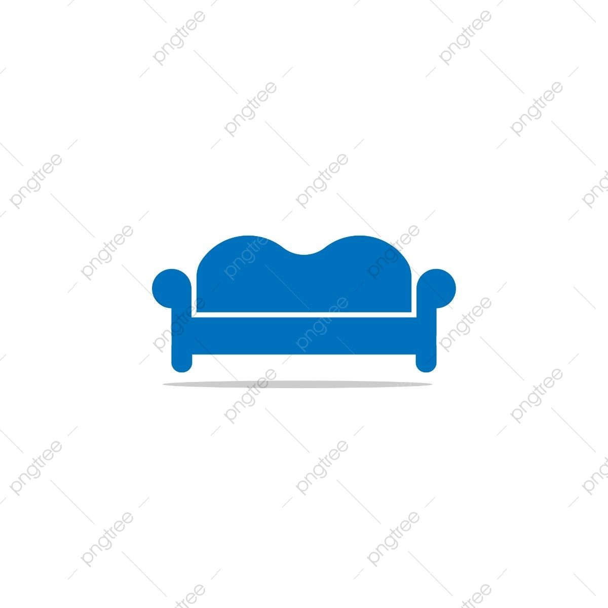 Sofa Graphic Design Template, Logo, Interior, Furniture PNG.