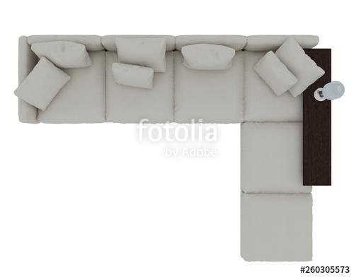 sofa top view png\