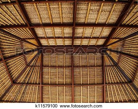 Stock Photography of Balinese Roof Soffit k11579100.