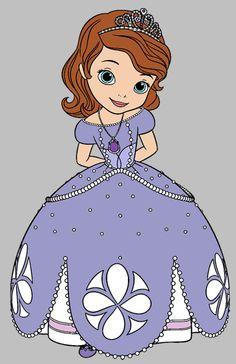 Princess Sophia Clip Art.