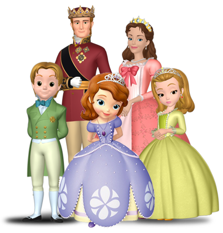 Sofia The First Characters Clipart.