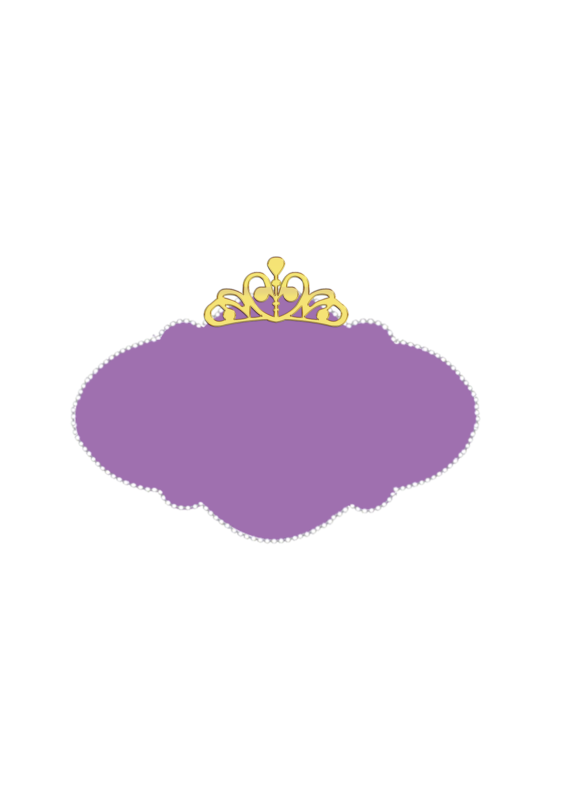 sofia the first crown clipart
