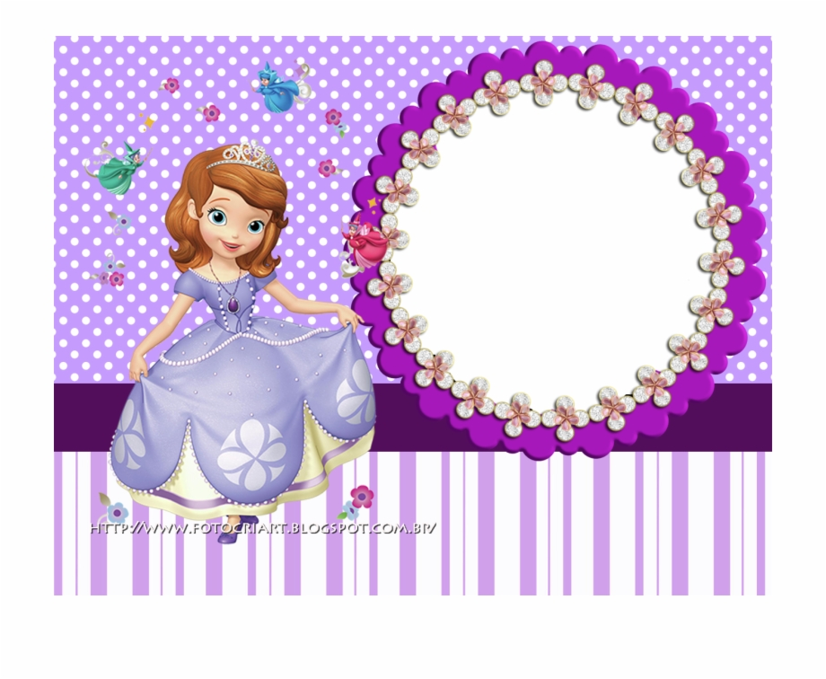 Sofia The First Frame Png, Transparent Png Download For Free.