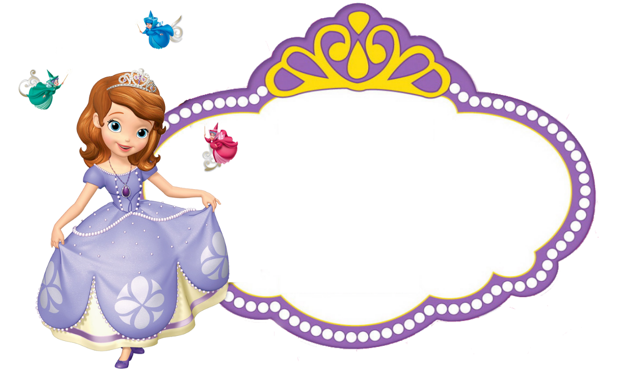 Sofia the First empty logo in 2019.