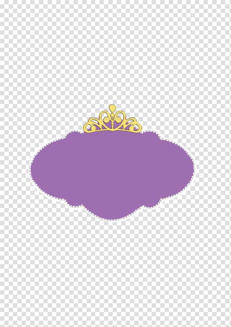 Purple princess logo, Purple Sofia the First Pattern, God.