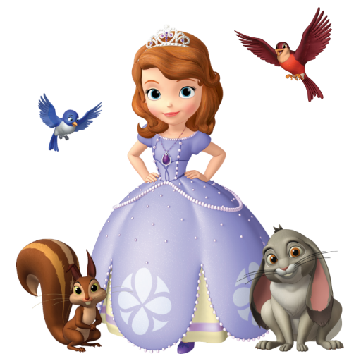 Sofia The First Friends Png Vector, Clipart, PSD.