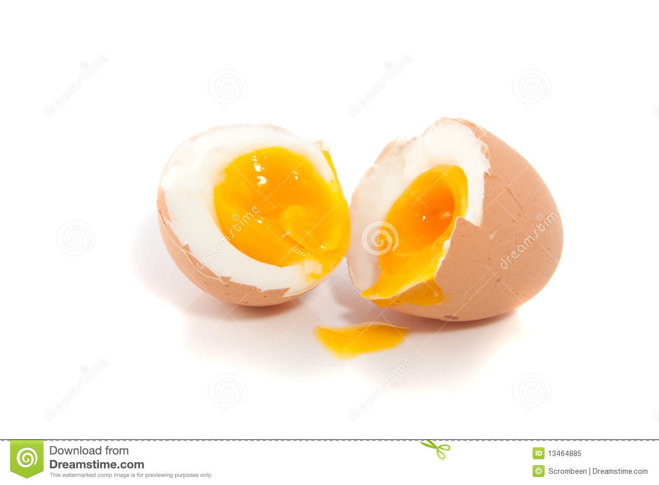 A Soft Boiled Egg Royalty Free Stock Photo.