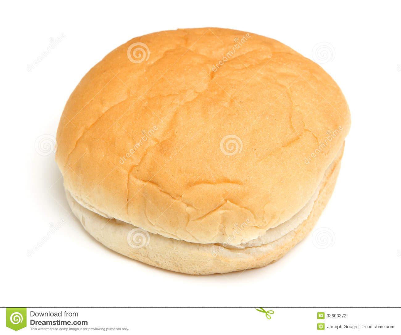 Soft Bread Roll Stock Photo.