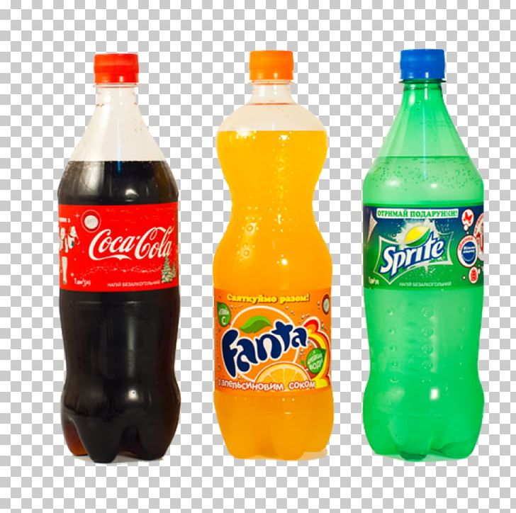 Fanta Fizzy Drinks Sprite Coca.